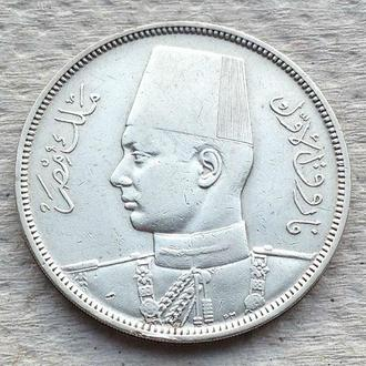 10 ПИАСТРОВ, 1939 г, AG 833, UNC, ФАРУК I, КОРОЛЬ ЕГИПТА, ЕГИПЕТ