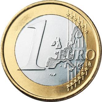 Монеты Европы - один евро, 2002 год (Германия, Италия)