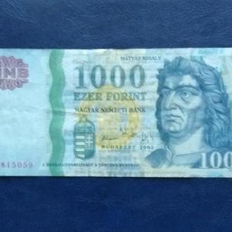1000форинтов 2005г