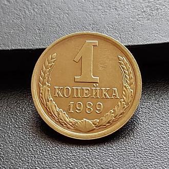 MN СССР 1 копейка 1989 г. _2