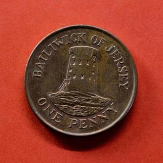 Джерси, 1 пенни 2006 года (1584)