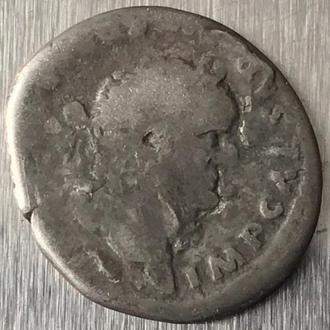 Рим Империя Тит Флавий Веспасиан Titus Flavius Vespasianus 69 - 79 г 2,60 гр денарий