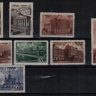 1946 Виды Москвы. MH сет (3_0073)