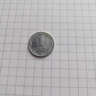 Монета 1 копейка 1992г Украина
