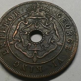 Южная Родезия 1 пенни 1947 год