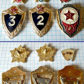 Знаки солдат срочной службы СССР