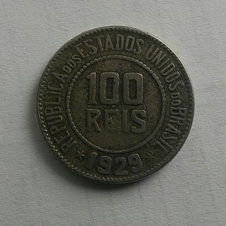 Бразилия 100 рейсов 1929 год