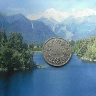Швейцария 10 рапенов 1932 года