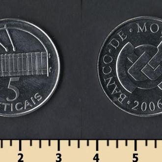 Мозамбик 5 метикалей 2006