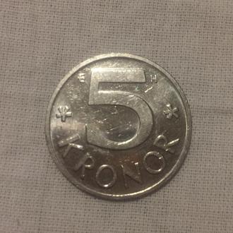 6 шведских крон монетами