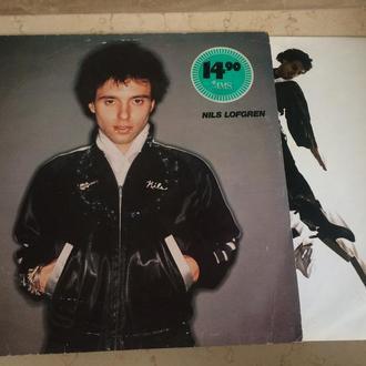 Nils Lofgren  (ex prod Alice Cooper , Lou Reed , Pink Floyd , Peter Gabriel , Kiss ) (Holland) LP