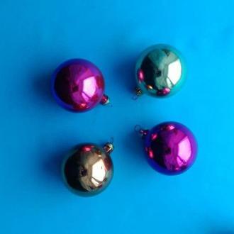 Новогодняя елочная игрушка Шар 4 шт. Шары