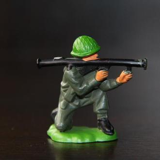 солдат американский  британский десантник Britains 54мм