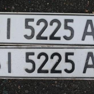 Номер автомобильный красивый, оригинал. Авто № номера парні, пара, Україна.