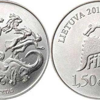 Shantal,  Литва 1,5 евро 2018, 50 лет Дню Физики