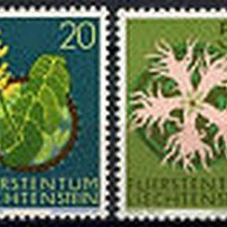 Лихтенштейн 1971 Флора