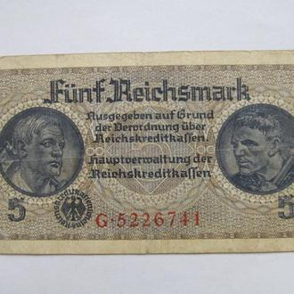 Германия 5 рейхсмарок Третий Рейх