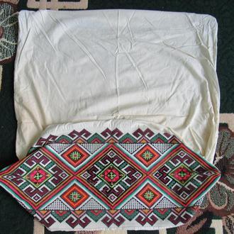вишивка для наволочки на подушку (№517)