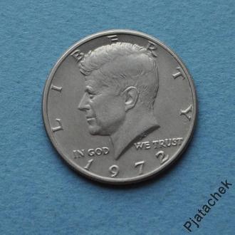 США 50 центов 1972 №1