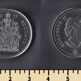 Канада 50 центов 2017