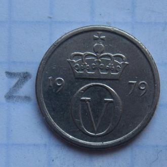 НОРВЕГИЯ, 10 эре 1979 года.