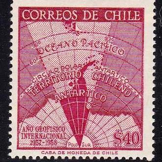 Чили 1958 г   MNH - часть серии