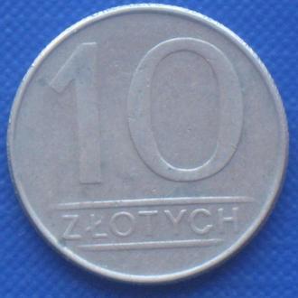 Польша 10 злотых 1988 Монеты мира