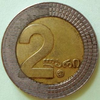(А) Грузия 2 лари, 2006