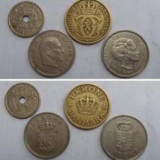 Четыре МОНЕТы = Одним лотом. Дания