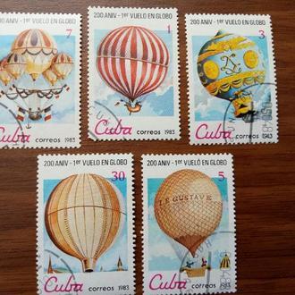 Воздушные шары Куба 1983