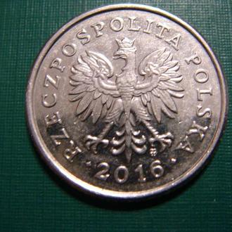 Польша 50 грош  2016
