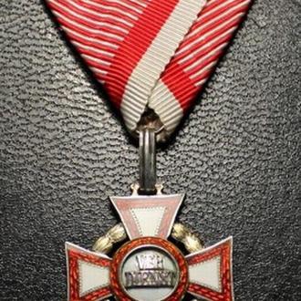 Австро-Венгрия крест Военных Заслуг .Отличное состиояние.