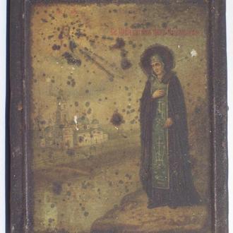 Иконка, св. княгиня Анна Кашинская, Российская империя, 1910-ые года