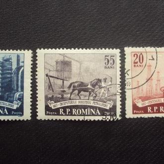 Румыния 1950г.гаш.полная.