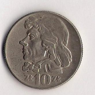 10 злотых 1960г., Польша.