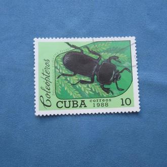 Куба 1988 год Жуки