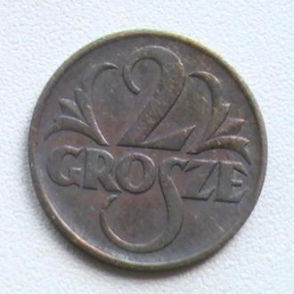 2 Гроша 1938 г Польша 2 Гроша 1938 р Польща