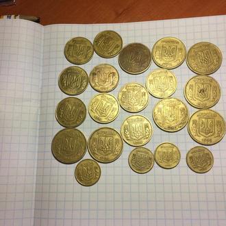 Монеты Украины 1992-1994
