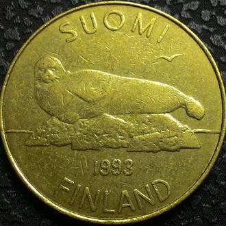 Финляндия 5 марок 1993 год