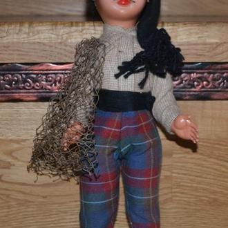 Кукла-Рыбак из Nazaré Португалия, пластик 35см