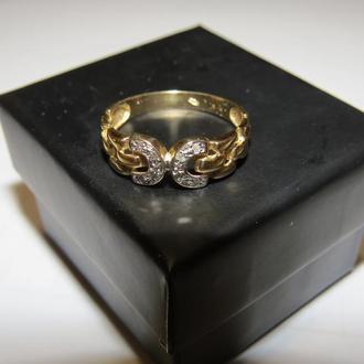 Кольцо золотое 585 пробы