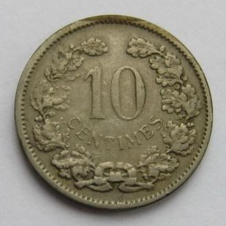 Люксембург 10 Сентим 1901 (KM#25)