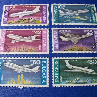 Транспорт Літаки Авіація Болгарія Болгария