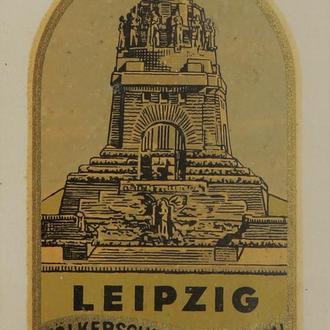 Наклейка. Лейпциг. 1960-е. (72)