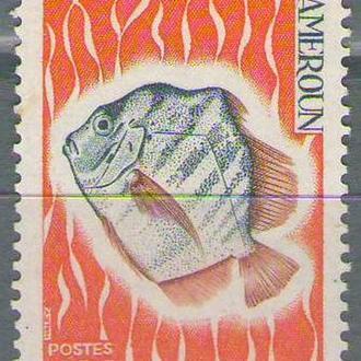 Камерун 1968 рыба