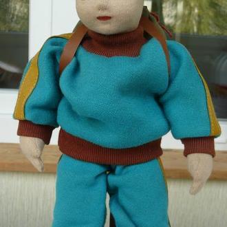 Лялька Кукла 30см Glorex хлопчик