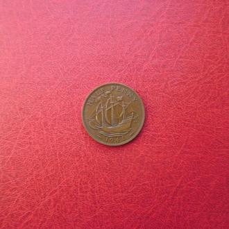 Великобритания 1/2 пенни 1941