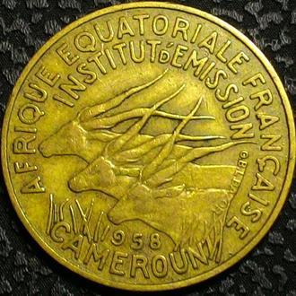 Камерун 10 франков 1958 год  СОХРАН!