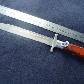 Нож ( новодел ) типа австрийский штык - нож, складной, от фирмы Grand Way