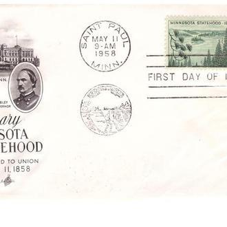USA / США  1958 г  - КПД - Минесота